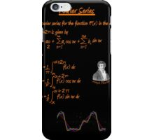 Joseph Fourier and Fourier Series iPhone Case/Skin