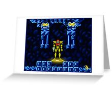 Super Metroid Elevator Greeting Card