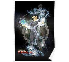 BDZ Tesla Milky Way Poster
