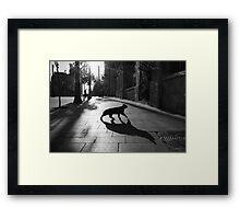 the animal Framed Print