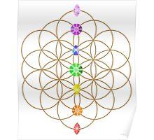 Flower Of Life - Metaphysical Poster
