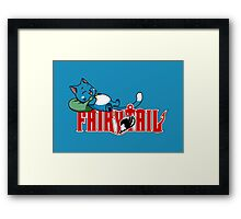 Happy Napping Framed Print