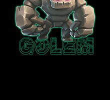 Golem from Clash of Clans by Potatrice