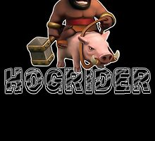 Hogrider from Clash of Clans by Potatrice