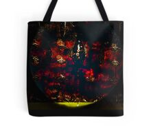 red egg salad Tote Bag
