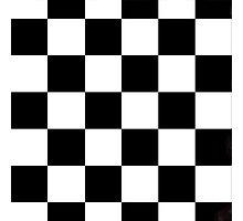 Checkerboard  Photographic Print