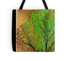 justins tree ... Tote Bag