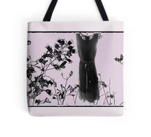 the secret lives of dresses ...  Tote Bag
