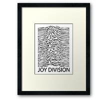 Joy Division B Framed Print