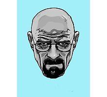 Walter White - Heisenberg - Breaking Bad- Black and White Photographic Print