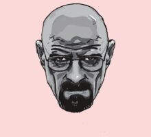 Walter White - Heisenberg - Breaking Bad- Black and White by ptelling