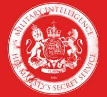 On her Majesty's secret service logo Kids Clothes