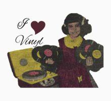 I heart Vinyl Kids Clothes