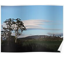 Lenticular Clouds Poster