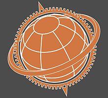 Rise of Logo by ewazxde