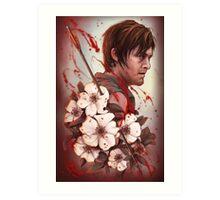 Daryl - Cherokee Rose Studies Art Print