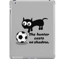 Cat with Football iPad Case/Skin