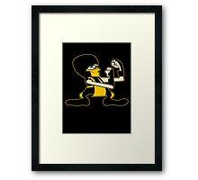 FIGHT! (scorpion) Framed Print