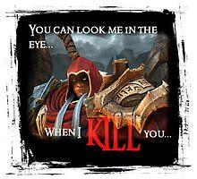 Darksiders: Look me in the eye by Kresa
