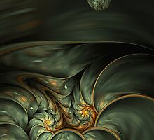 The Darker Side - fractals with darker mood or colors by floatingpilot