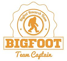 Orange Bigfoot Research Team Captain by kwg2200