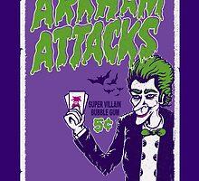 Joker Attacks by dorksince83