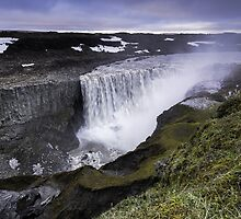 Waterfall: Dawn at Dettifoss, Iceland by thewaxmuseum