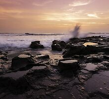 Sunset: Santa Teresa, Costa Rica by thewaxmuseum