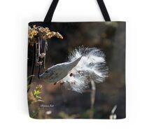 Milkweed Pod Explosion ~ Nature Tote Bag