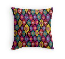 Uzbekistan pattern Throw Pillow