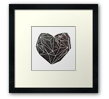 Heart Graphic 4 Framed Print