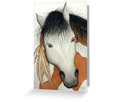 """SPIRIT HORSE"" Greeting Card"