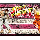 Ken and Ryu - Streetfighter 2 by JoelCortez