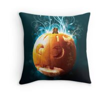 Magical Pumpkin Throw Pillow
