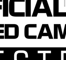 OFFICIAL SPEED CAMERA TESTER (2) Sticker