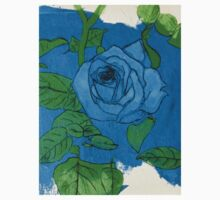 Painting of a rose among a potato patch II Kids Clothes