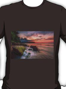 Rocky Beach Sunset T-Shirt