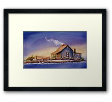 """""""IN FOR THE NIGHT"""" Framed Print"""