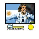 Gabriel Batistuta by JoelCortez