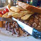Steak Dinner by Susan S. Kline
