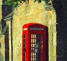 Telephone Box by domediart