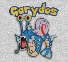 Gary the snail and Gyarados  mashup = Garydos by datthomas