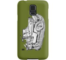 Willys World War Two Army Jeep Illustration Samsung Galaxy Case/Skin