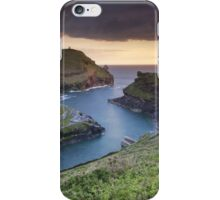 Cornwall - Boscastle Sunset iPhone Case/Skin