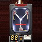 Plutonium Flux Capacitor by Johnny Sunardi