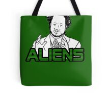 Ancient Aliens Guy Meme Tote Bag
