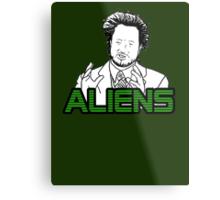 Ancient Aliens Guy Meme Metal Print