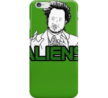 Ancient Aliens Guy Meme iPhone Case/Skin