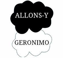 allonsy? geronimo by raggedy-blogger