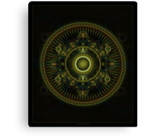 Metatron's Magick Wheel ~ Sacred Geometry Canvas Print